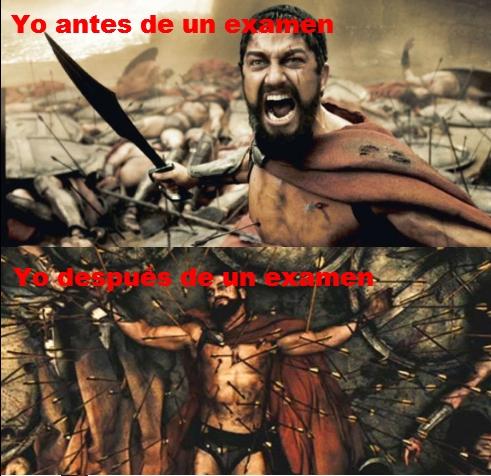 300,espartano,examen,flechas,leonidas,muerte