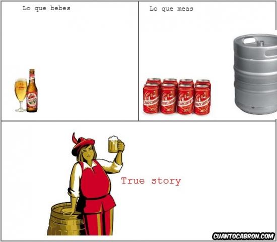 beber,cerveza,cruzcampo,mear,true story
