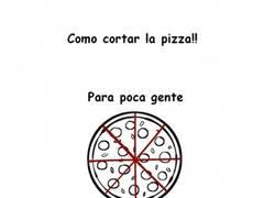 Enlace a Cómo cortar la pizza