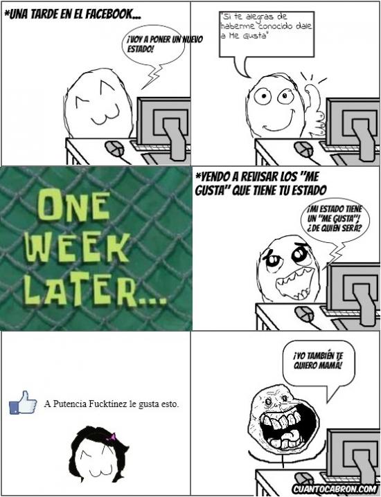 estado,facebook,forever alone,madre