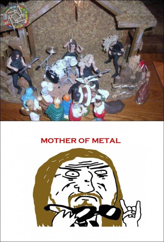 Mother_of_god - El belén más heavy de todos