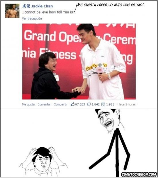 Yao - Encuentro épico entre Jackie Chan y Yao Ming