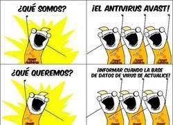 Enlace a Avast antivirus jodiéndonos en los peores momentos