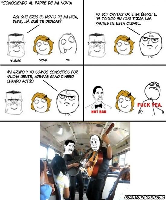 autobus,fuck yeah,grupo,metro,música,musico callejero,okay,tocar en el tren,yaoming