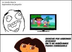 Enlace a Oh stop it Dora!