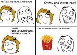 Enlace a Novia vs Papas fritas
