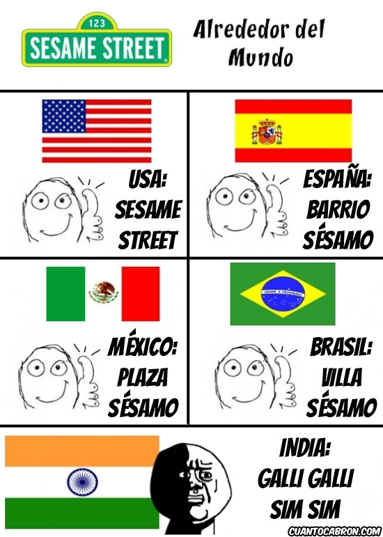 banderas,barrio sesamo,blas,coco,elmo,epi,galli galli sim sim,idiomas,segun el pais