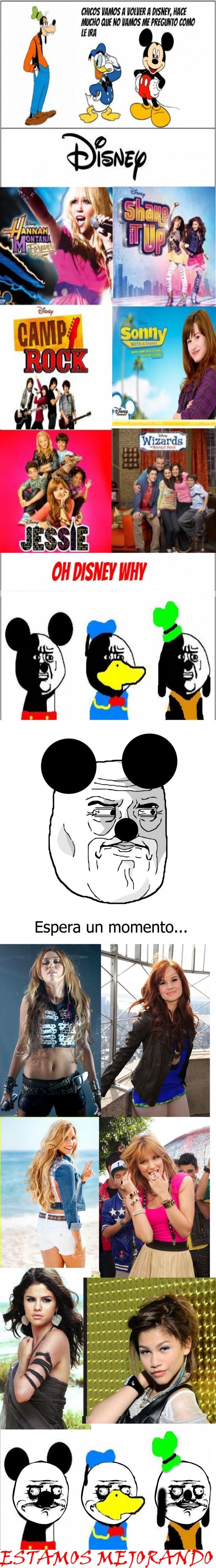 Me_gusta - Cada día, Disney, mola más