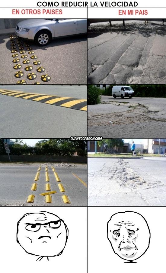 Mix - Así se reduce la velocidad en mi país