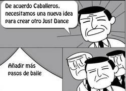 Enlace a Ideas para un nuevo juego de Just Dance