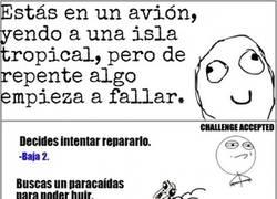 Enlace a ¿Sobrevivirías a un accidente aéreo? [Cómic interactivo]