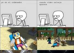 Enlace a Minecraft Gangnam style