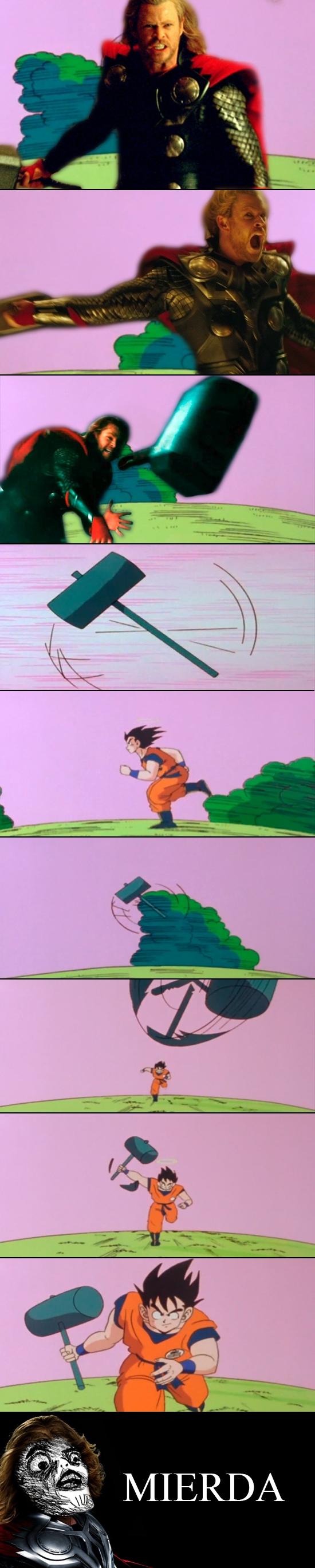 Inglip - Thor vs Goku