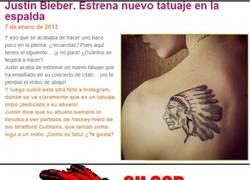 Enlace a El nuevo tattoo de Justin Bieber, ¿será por las plumas?