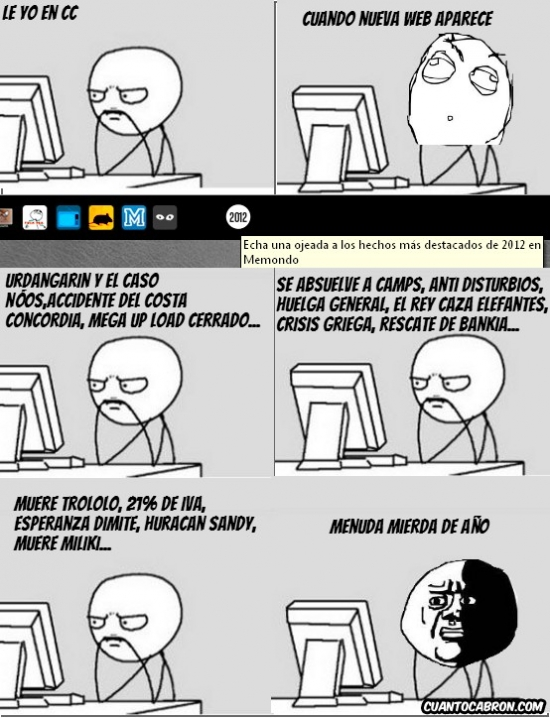 2012,anuario,hechos,oh god why,pc guy
