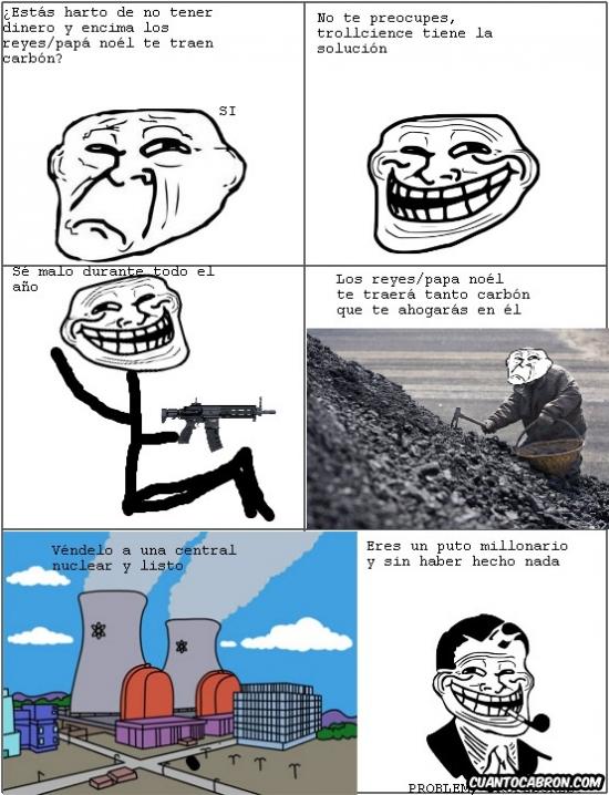 Trollface - Se dice nucelar