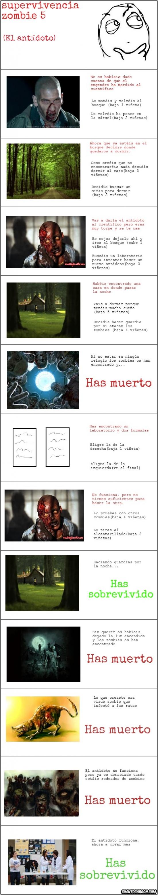 Otros - Supervivencia zombie 5 [cómic interactivo]
