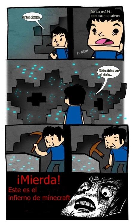 Inglip - Mientras tanto en Minecraft
