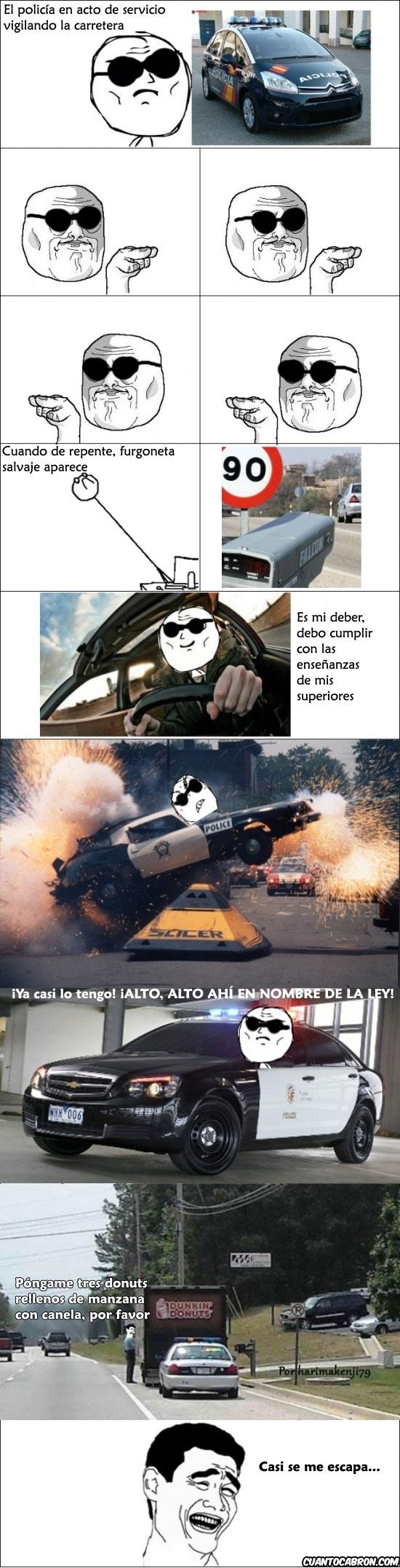 Yao - El deber de un buen policía
