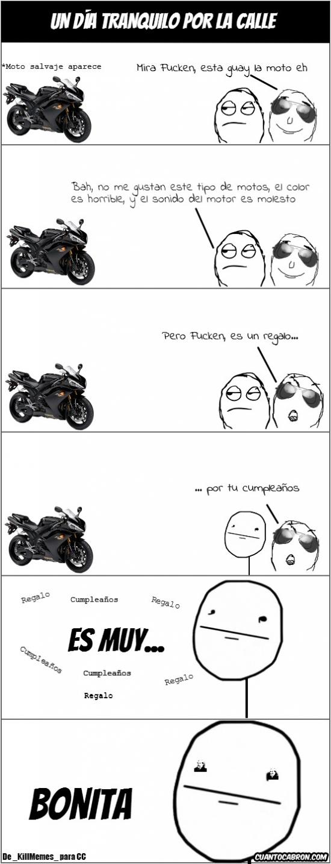 amigos,color,cumpleaños,it's free,moto,motor,poker face,regalo