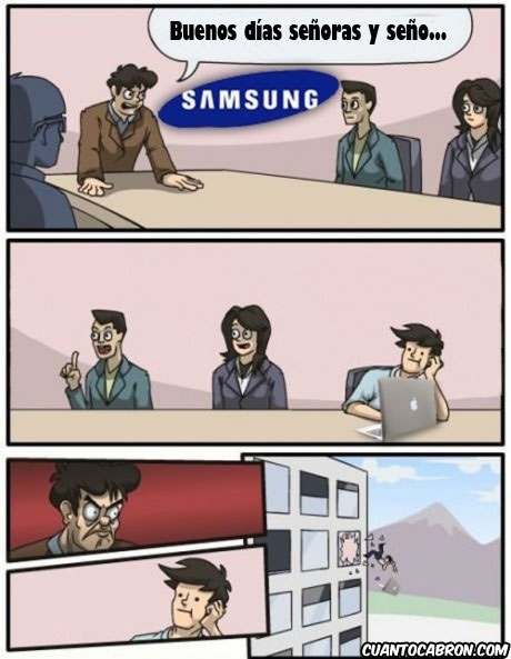 Otros - Mientras tanto, en las oficinas de Samsung