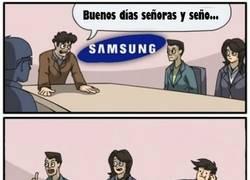 Enlace a Mientras tanto, en las oficinas de Samsung