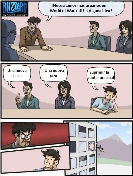 Otros - Mientras tanto en las oficinas de Blizzard...