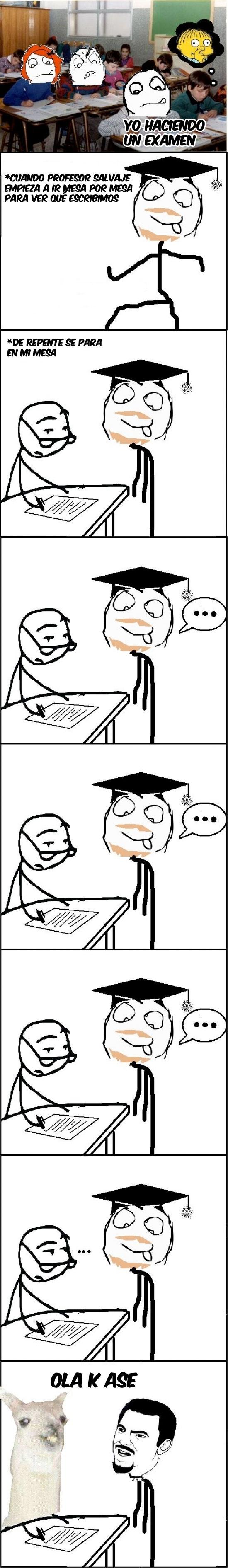 colegio,Examen,instituto,ola k ase,profesor