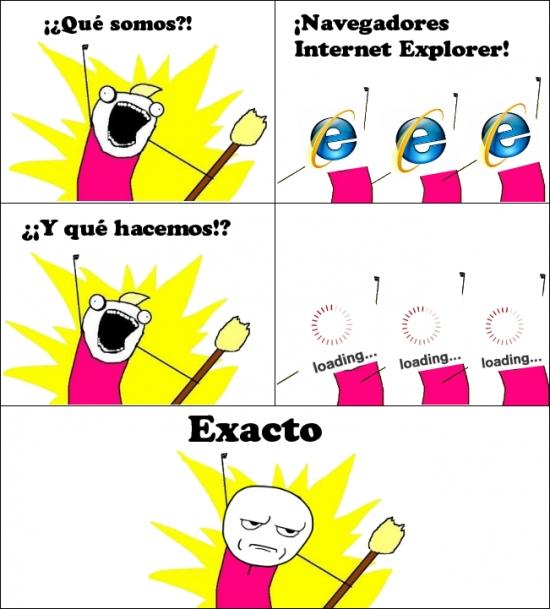 Otros - Y por eso me pasé a Chrome