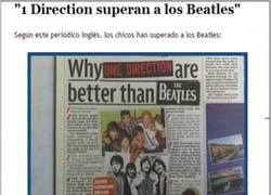 Enlace a ¿One Direction mejores que Los Beatles?