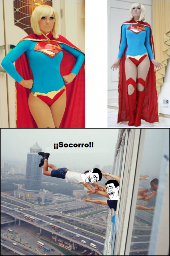 Yao - ¡Superwoman, sálvame!