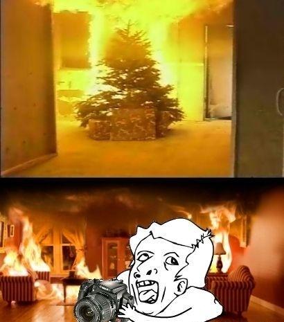 Otros - Lo primero que hay que hacer en caso de incendio