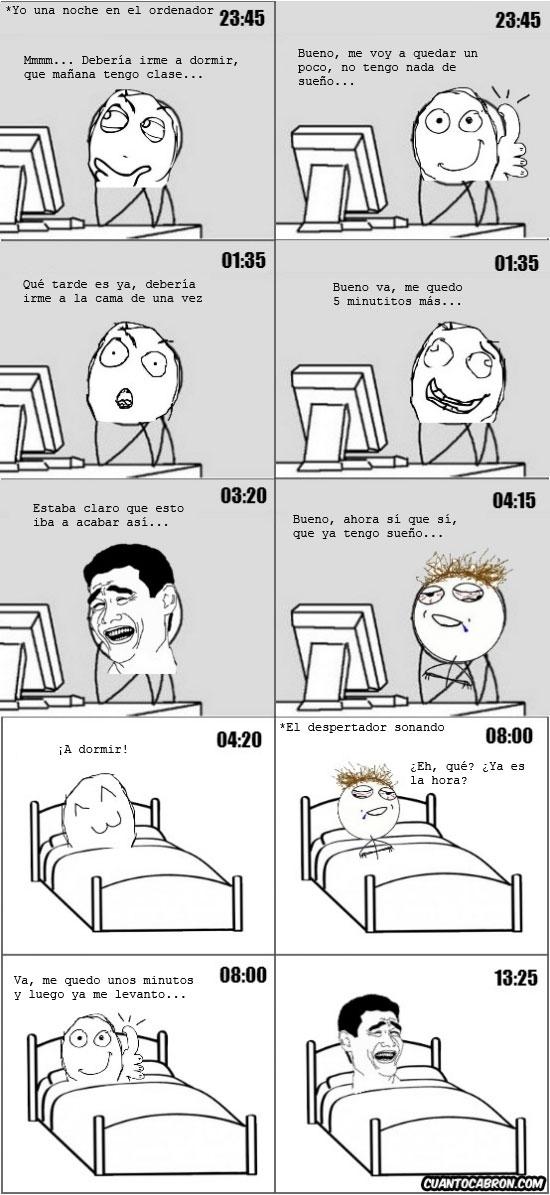 5 minutos más,cama,hora,ir a dormir,ordenador,propia,yao ming