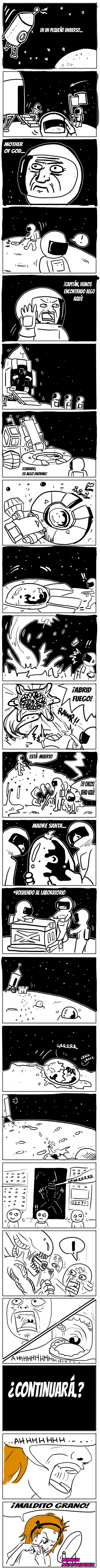 aliens,granos,Miniuniverso