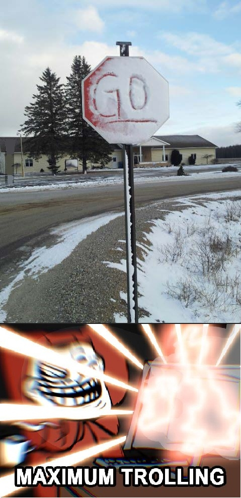 Trollface - Estos días que ha nevado...