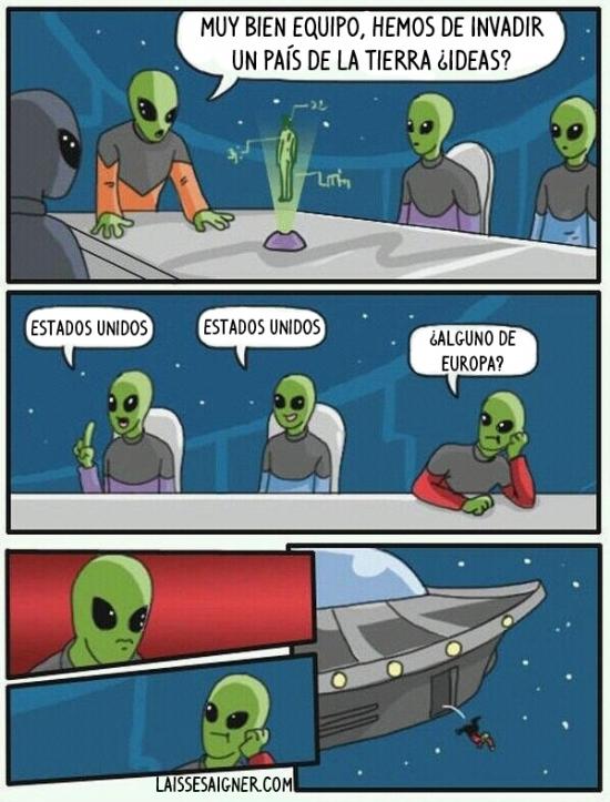 Otros - Demasiada originalidad para unos aliens