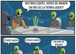 Enlace a Demasiada originalidad para unos aliens