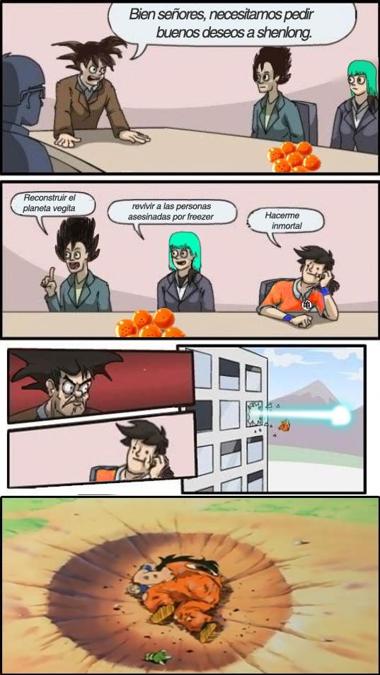 bulma,dbz,dragon ball,goku,junta de accionistas,vegeta,ventana,yamcha