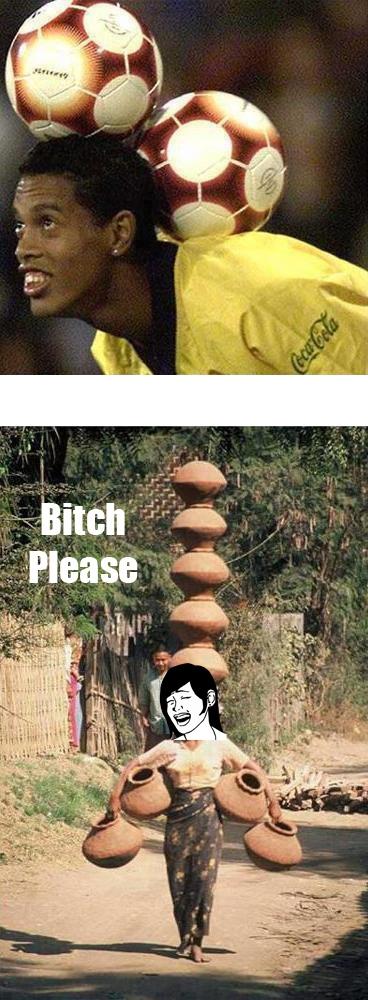 Yao - Ronaldinho, please