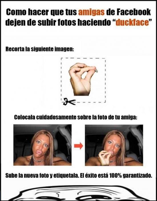 Trollface - Y así erradicaremos para siempre la duckface