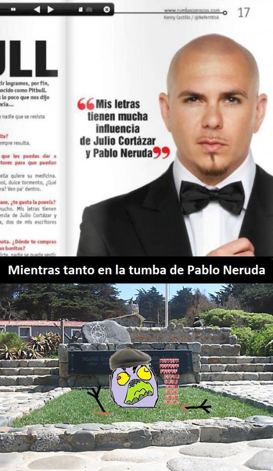 Ffffuuuuuuuuuu - Pitbull, deja en paz a los muertos