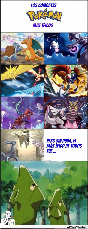 Otros - Los combates Pokémon más ÉPICOS