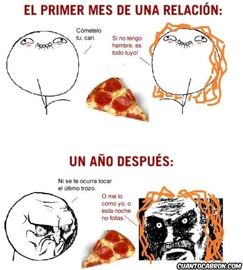 año,infinito desprecio,mes,no,pizza,relacion