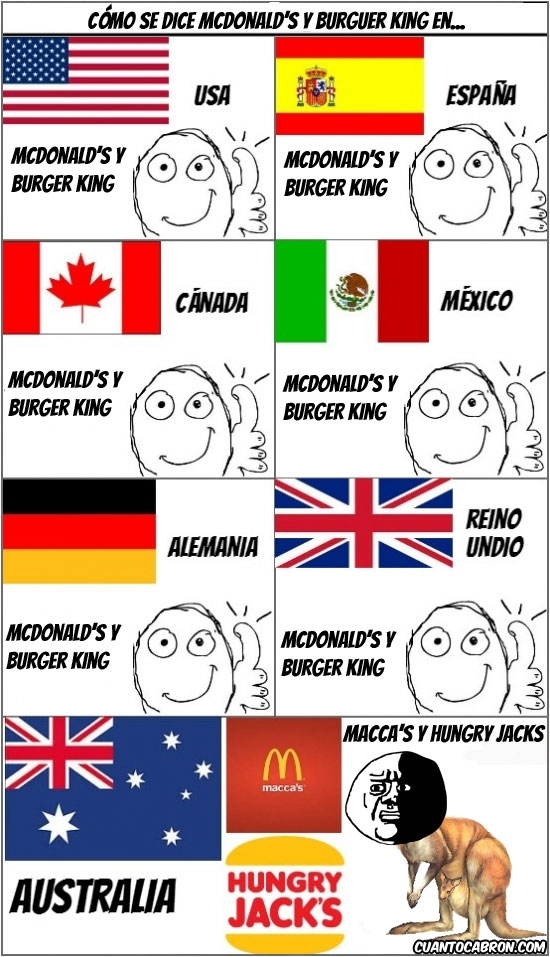 Oh_god_why - McDonald´s y Burger King around the world