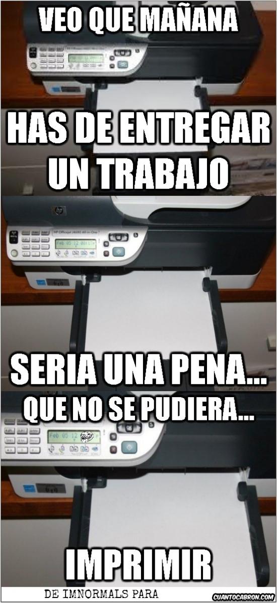 Otros - Impresora Troll