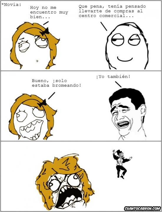 Trollface - ¡Vayamos de compras!