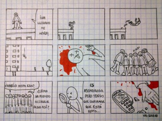 caer,dibujado a mano,gente,nokia,papel cuadriculado,roto,suicidarse