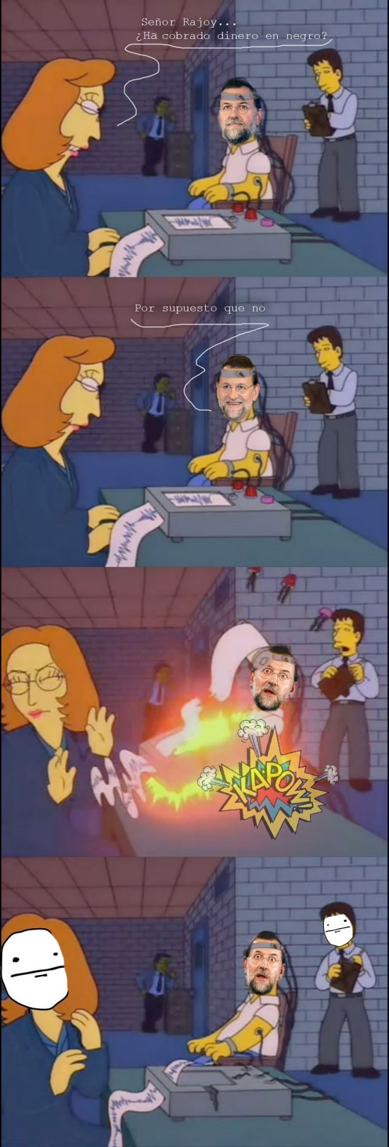Pokerface - Rajoy y el Polígrafo