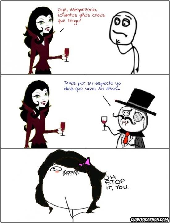 Otros - Cumplidos a un vampiro