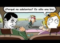 Enlace a No es por la bici...